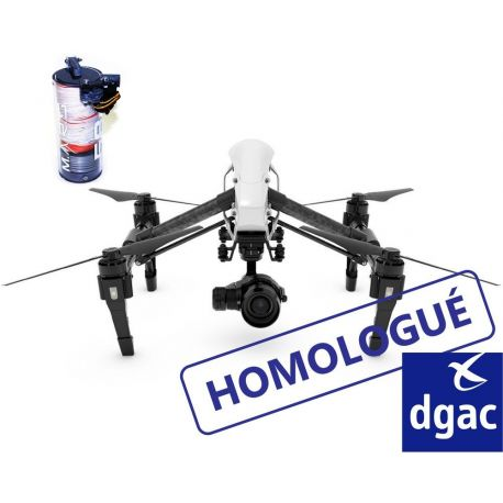 Forfait homologation S1|S2|S3 Inspire 1 (MARS58) - DJI