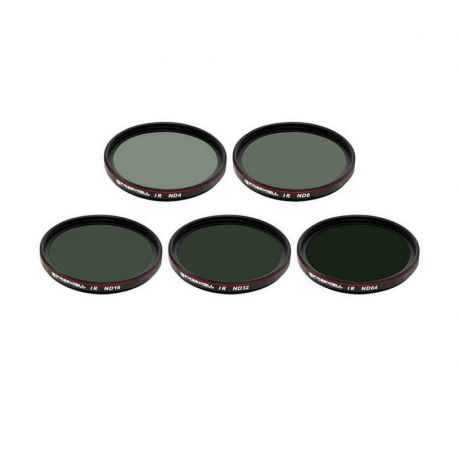Pack de 5 filtres IR ND pour DJI Zenmuse X7 - Freewell