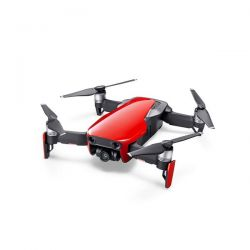 Drone pliable Mavic AIR Rouge Flamme - DJI