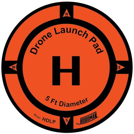 5 Foot Diameter Drone Launch Pad - HOODMAN