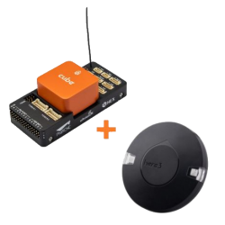 Pack Combo Cube Orange + Carrier board ADSB + GPS Here 3 GNSS - HEX