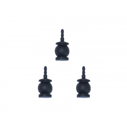 Dampers silicone noir x3 - GREMSY