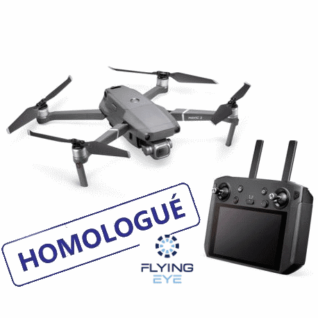 Pack Mavic 2 Pro homologué S1/2/3 + Smart Controller + Fly more - DJI