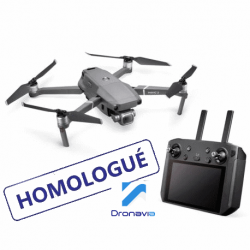 Pack Mavic 2 Enterprise homologué S1/2/3 + Smart Controller - DRONAVIA