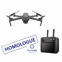 Mavic 2 Enterprise Dual homologué S1/2/3 + Smart Controller + Fly More - FLYING EYE