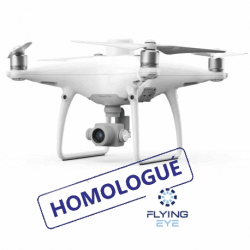 DJI Phantom 4 RTK + Station D-RTK2 + Homologation S1/S2/S3 - FLYING EYE
