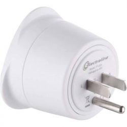 Adaptateur France Europe 2 broches vers USA 3 broches - ELECTRALINE