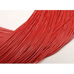 Câble silicone haute qualité 24 AWG Rouge (1 m) - Turnigy