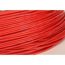 Câble silicone haute qualité 18 AWG Rouge (1 m) - Turnigy