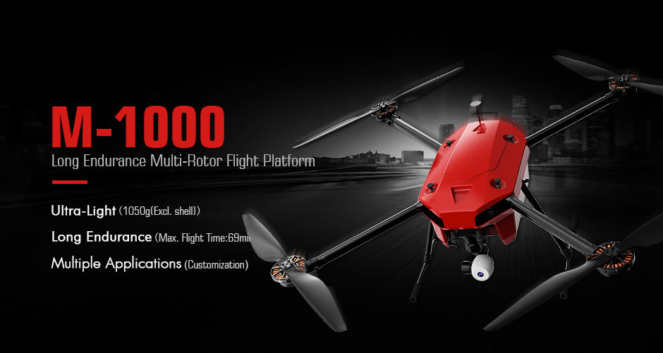 Drone T-Motor M1000 specifications