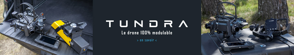 Drone modulable Tundra by Hexadrone